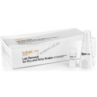 Label.m Lab remedy for dry and itchy scalps (Сыворотка для сухой и зудящей кожи головы), 24 шт по 10 мл - купить, цена со скидкой