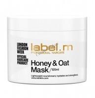 Label.m Honey & oat treatment mask (маска питательная мед и овес) - купить, цена со скидкой