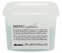 Davines Essential Haircare New Minu conditioner (Защитный кондиционер для сохранения косметического цвета волос) -
