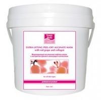 Beauty style Extra lifting peel-off alginate mask with red grape and collagen (Моделирующая (альгинатная) лифтинг-маска с красным виноградом и коллагеном) - купить, цена со скидкой