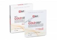 Tete Cosmeceutical Bio gold hydrogel express (Маска моментального действия с коллоидным золотом), 4 саше -