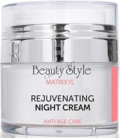 Beauty Style Night cream with Matrixil with a rejuvenating effect (Ночной крем с матриксилом с омолаживающим эффектом), 30 мл -