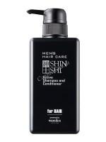 Otome Men's Hair Care active shampoo Shinshi (Тонизирующий шампунь-кондиционер для мужчин), 500 мл - купить, цена со скидкой