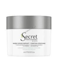 Secret Professionnel Purifying Scrub mask (Очищающая маска-гоммаж для волос с марокканской глиной «Гассул» и маслом Эвкалипта), 150 мл -