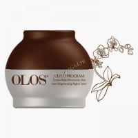 Olos Face regenerating night cream (Восстанавливающий ночной крем), 50 мл. - купить, цена со скидкой