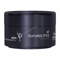Wella System Professional Men Textured Style (паста для укладки с матовым эффектом), 75 мл - купить, цена со скидкой