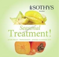 Sothys Seansonal treatment Spring-Summer 2017 (Сезонный уход хурма-карамбола), 20 процедур - купить, цена со скидкой