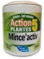 Phytofrance Mince active (Минсактив – снижение массы, объёмов и параметров тела), 100 капсул - купить, цена со скидкой