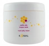 Kaaral Royal Jelly Cream (Питательная крем-маска для восстановления окрашенных и химически обработанных волос), 500 мл - купить, цена со скидкой