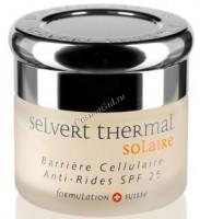 Selvert Thermal Barriere Cellulaire Anti-rides SPF 25 (Солнцезащитный омолаживающий крем для лица SPF 25), 50 мл - купить, цена со скидкой