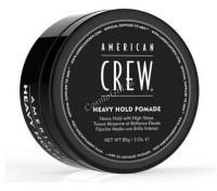 American Crew Heavy Hold Pomade (Помада для укладки жесткой фиксации), 85 гр - купить, цена со скидкой