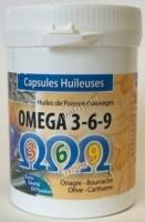 Phytofrance Omega 3-6-9 (Омега 3,6,9 – натуральные НЖК для здоровья и красоты), 100 капсул - купить, цена со скидкой