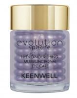 Keenwell Evolution Sphere Hydro-Nourishing Multifunctional Eye Care (Увлажняющий питательный мультифункциональный комплекс для контура глаз), 15 мл - купить, цена со скидкой