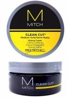 Paul Mitchell Mitch Clean Cut Styling Cream (Полуматирующий крем для укладки средней фиксации) - купить, цена со скидкой