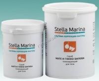 Stella Marina Скраб для тела на основе морской соли тонизирующий «Мате и гинкго билоба» -