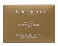 Selvert Thermal Sheets of Gold (Золотые косметические салфетки), 12 шт - купить, цена со скидкой
