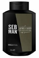 Seb Man The Multi-Tasker (Шампунь 3 в 1 для ухода за волосами, бородой и телом), 250 мл -