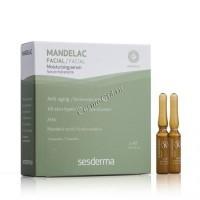 Sesderma Mandelac moisturizing serum (Сыворотка с миндальной кислотой), 5 ампул по 2 мл. - купить, цена со скидкой