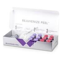 SkinMedica Rejuvenize peel (Поверхностный пилинг  для коррекции возрастных изменений кожи), 3 препарата - купить, цена со скидкой