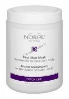 Norel Dr. Wilsz Therapeutic peat mud mask (Очищающая грязевая детокс-маска с торфом для лица и тела), 1000 мл - купить, цена со скидкой