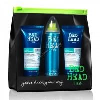 Tigi Bed head urban anti+dotes recovery (Набор для поврежденных волос в косметичке), 3 средства. - купить, цена со скидкой