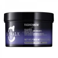 Tigi Catwalk fashionista violet mask (Восстанавливающая маска для коррекции цвета осветленных волос), 200 мл. - купить, цена со скидкой