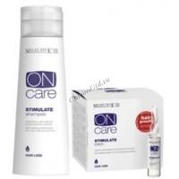Selective Professional Stimulate (Стимулирующий шампунь, предотвращающий выпадение волос + Интенсивный стимулирующий лосьон), 2 препарата - купить, цена со скидкой