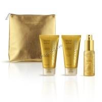 Miriamquevedo The sublime gold deluxe travel edition kit (Золотой набор для путешествия), 3 препарата - купить, цена со скидкой