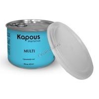 Kapous Жирорастворимый воск с ароматом с микромикой в банке, 400 мл. - купить, цена со скидкой