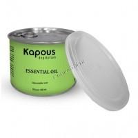Kapous Жирорастворимый воск с эфирным маслом базилика  в банке, 400 мл. - купить, цена со скидкой
