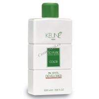 Keune so pure natural balance color developer (Проявитель), 1000 мл - купить, цена со скидкой
