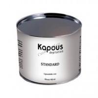 Kapous Жирорастворимый воск синий с азуленом в банке, 400 мл. - купить, цена со скидкой