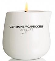 Germaine de Capuccini Sperience Massage Candle Olive (Массажная свеча оливковая), 200 гр - купить, цена со скидкой