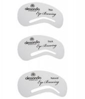 ALESSANDRO Трафареты для бровей - купить, цена со скидкой