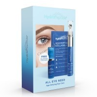 HydroPeptide All Eye Need (Набор интенсивный омолаживающий для периорбитальной области), 3 средства -
