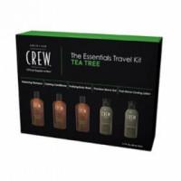 American crew Tea tree (Набор), 5 препаратов. - купить, цена со скидкой