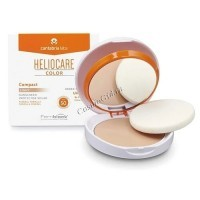 Cantabria Labs HELIOCARE Color Compact SPF 50 Sunscreen (Крем-пудра компактная минеральная с SPF 50), 10 гр -