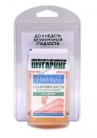 Aravia Набор: сахарная паста в картриджах «Средняя», 100 гр. + бумажные полоски для депиляции - купить, цена со скидкой