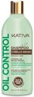 Kativa Oil Control shampoo (Шампунь «Контроль» для жирных волос) -