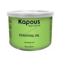 Kapous Жирорастворимый воск с эфирным маслом аниса в банке, 800мл. - купить, цена со скидкой