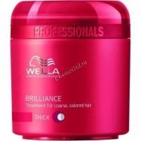 Wella Brilliance (Крем-маска для окрашенных волос), 150 мл - купить, цена со скидкой