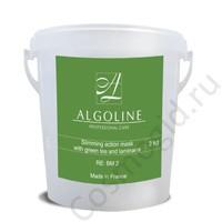 Algoline Активное похудение с зеленым чаем и ламинарией (тонизирующая маска), 600 гр - купить, цена со скидкой