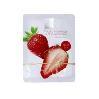 Beauty Style Botanic Mask Fruit Silk (Маска с клубникой и АНА кислотами Сияние и тонус), 30  мл х 1 шт - купить, цена со скидкой