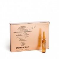 Dermatime Proteoglycans & Vitamin (C Протеогликаны и витамин С Коктейль в ампулах), 5*2 мл -