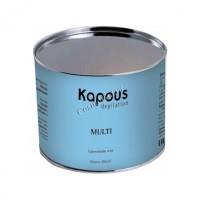 Kapous  Жирорастворимый воск с ароматом ванили в банке, 400 мл. - купить, цена со скидкой
