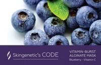 Skingenetic's Code Vitamin-Burst Alginate Mask (Альгинатная витаминная маска с экстрактом черники и витамином С) -