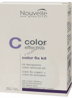 Nouvelle Color Effective Color Fix Kit (Набор для удаления краски с волос) - купить, цена со скидкой