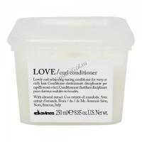 Davines Essential Haircare New Love Curl conditioner (Кондиционер для усиления завитка) -