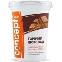 Concept Fusion mask hot chocolate (Маска для волос «Горячий шоколад» энергизирующая с экстрактом какао), 450 мл - купить, цена со скидкой