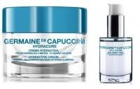 Germaine de Capuccini HydraCure Hydra Cream normal&combination Skin+Serum (Набор крем для нормальной комбинированной кожи 50 мл+сыворотка 30 мл) - купить, цена со скидкой